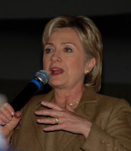 Hillary Clinton. (Photo by Michael Kovac, Creative Commons License)