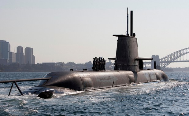 Australian is considering to replace its Collins-class submarines with an off-the-shelf purchase of complete Japanese Soryu-class submarines. (Photo via Royal Australian Navy, Creative Commons License)