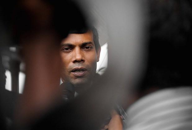 President Mohamed Nasheed. (Photo vua Maldives presidency)