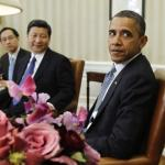 President Barack Obama with his Chinese counterpart Xi Jinping. (Photo by Prachatai, Creative Commons License)