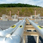 Shale gas pipelines in Pennsylvania. (Photo by Max Phillips/Jeremy Buckingham MLC, Creative Commons License)