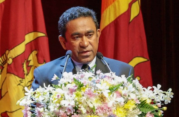 President Abdulla Yameen Abdul Gayoom is blamed for much of the turmoil Maldives has seen in recent months. (Photo by Mahinda Rajapaksa, Creative Commons License)