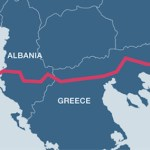 The route of Trans-Adriatic Pipeline will make Albania a regional hub for gas distribution. (Image via New Europe)