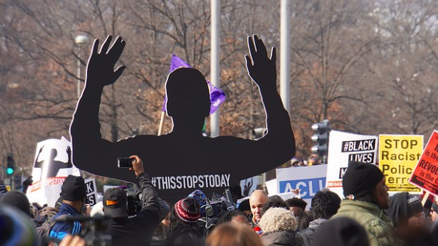 File photo of a 2014 national march against police violence in Washington DC. (Photo by Ted Eytan, Creative Commons License)