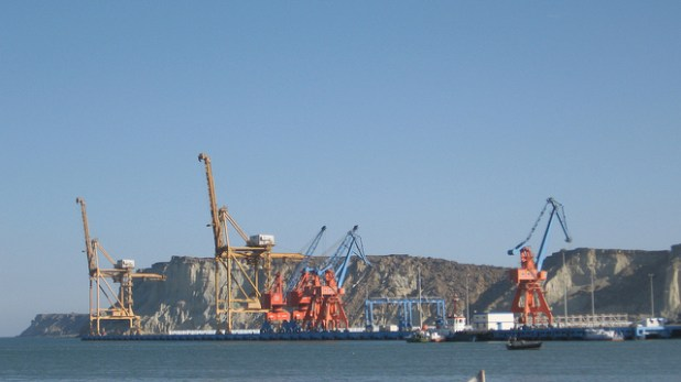 Gwadar Port will play critical role in transformation of Pakistan's most least developed region and will play a central role in the China-Pakistan Economic Corridor. (Photo by Moign Khawaja, Creative Commons License)