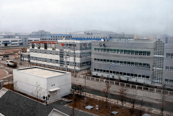A view of the Kaesong Industrial Complex. (Photo by Wiki Commons)