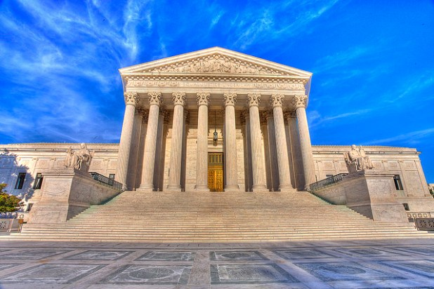 US Supreme Court building. (Photo by Envios, Creative Commons License)