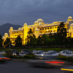 Pakistani prime minister's secretariat in Islamabad from where Prime Minister runs his embattled government.