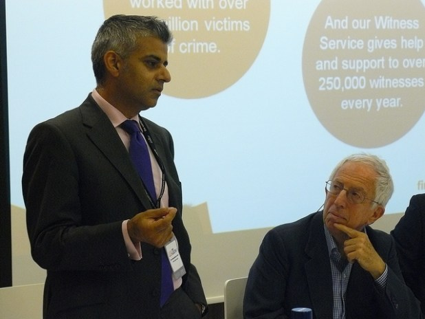Sadiq Khan has emerged as one of the most powerful Muslim politician in Europe. (Photo by Policy Exchange, Creative Commons License)