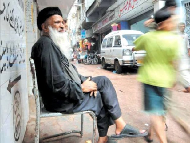 Abdul Sattar Edhi lived a simple and candid life. (Photo by junaidrao, Creative Commons License)