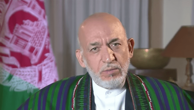 Former Afghan President Hamid Karzai is a strong supporter of One Belt One Road.
