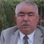 Afghanistan warlord-turned politician Abdul Rashid Dostum is a controversial figure often accused of grave human rights violations. (Photo via video stream)