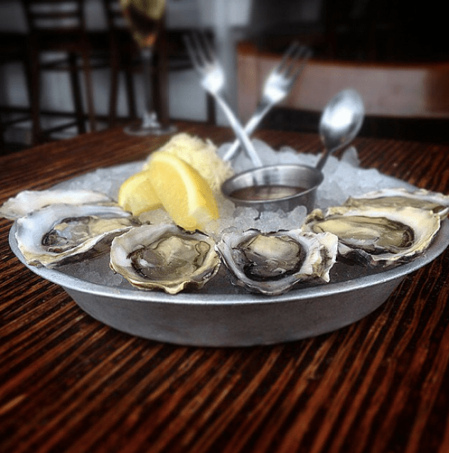 B.C. oysters