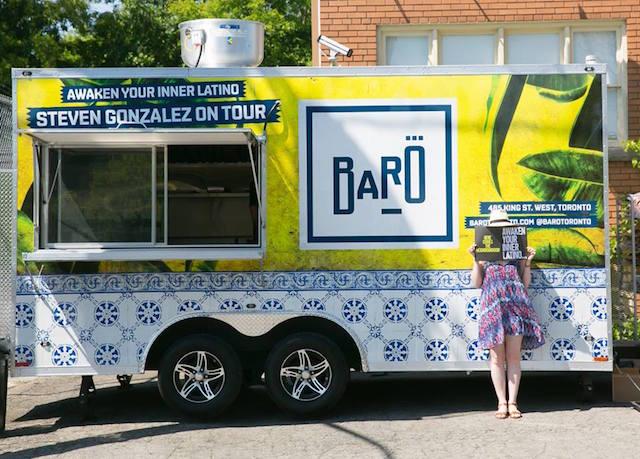 The Baro Food Truck (Image: Facebook/Baro Toronto)