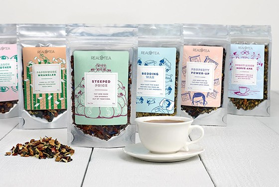 real tea gift basket