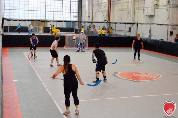 Indoor Floor Hockey (Image: Facebook/Toronto Sport and Social Club)
