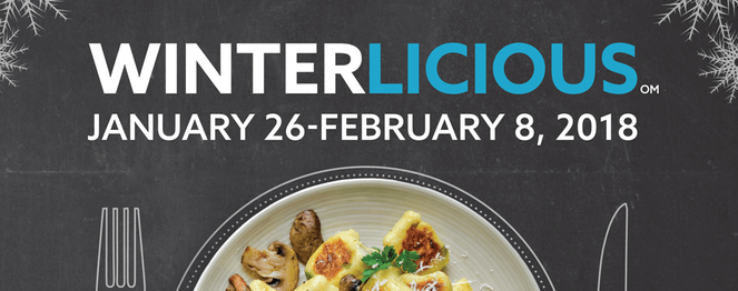Winterlicious 2018 - View the VIbe