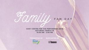 Family Fan Day
