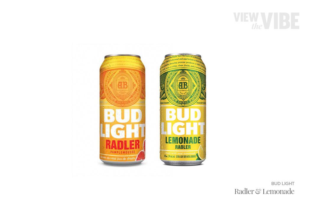 Bud Light Ready-to-Drink Cocktails/Beverage - Radler & Lemonade | View the VIBE Toronto