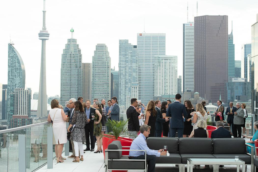 Globe & Mail Centre Patio - Amari Soiree | View the VIBE Toronto