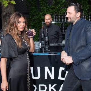 Natasha Koifman of NKPR and Anthony Mantella - NKPRIT18 TIFF Countdown Party | View the VIBE Toronto