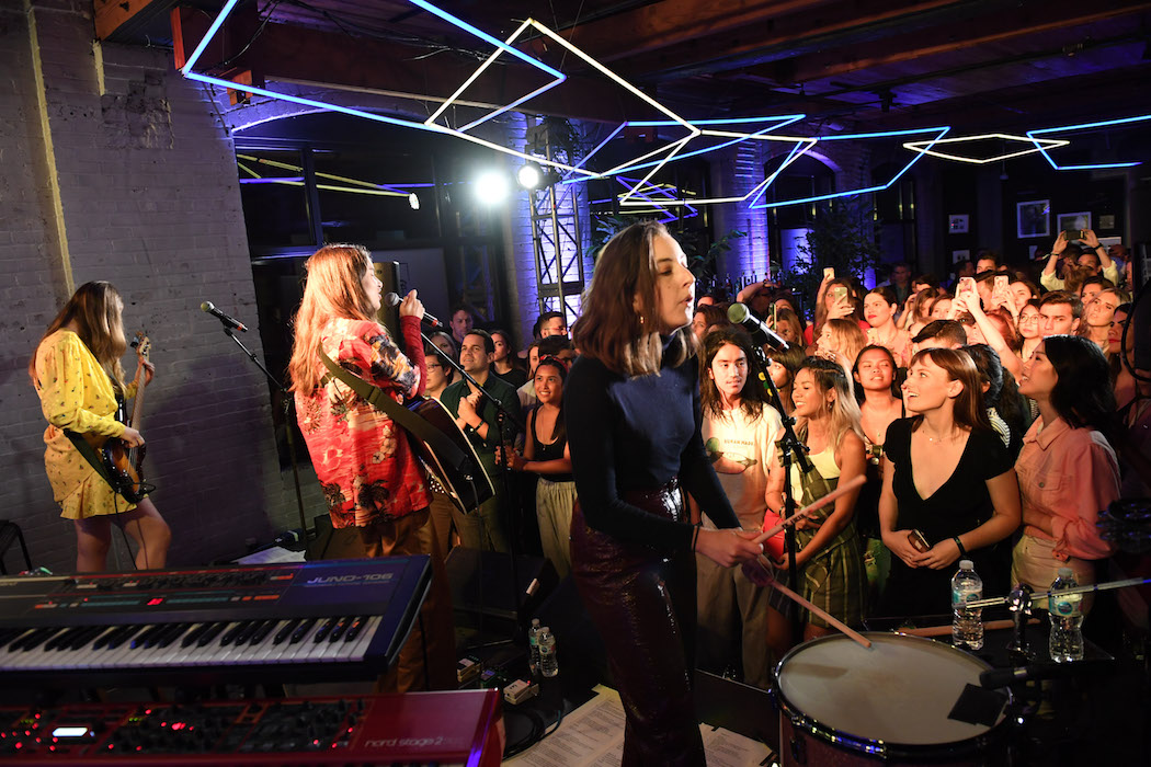 TIFF 2018 opening night party - RBCxMusic Hosted Special Performance By HAIM At RBC House Toronto Film Festival 2018 | View the VIBE