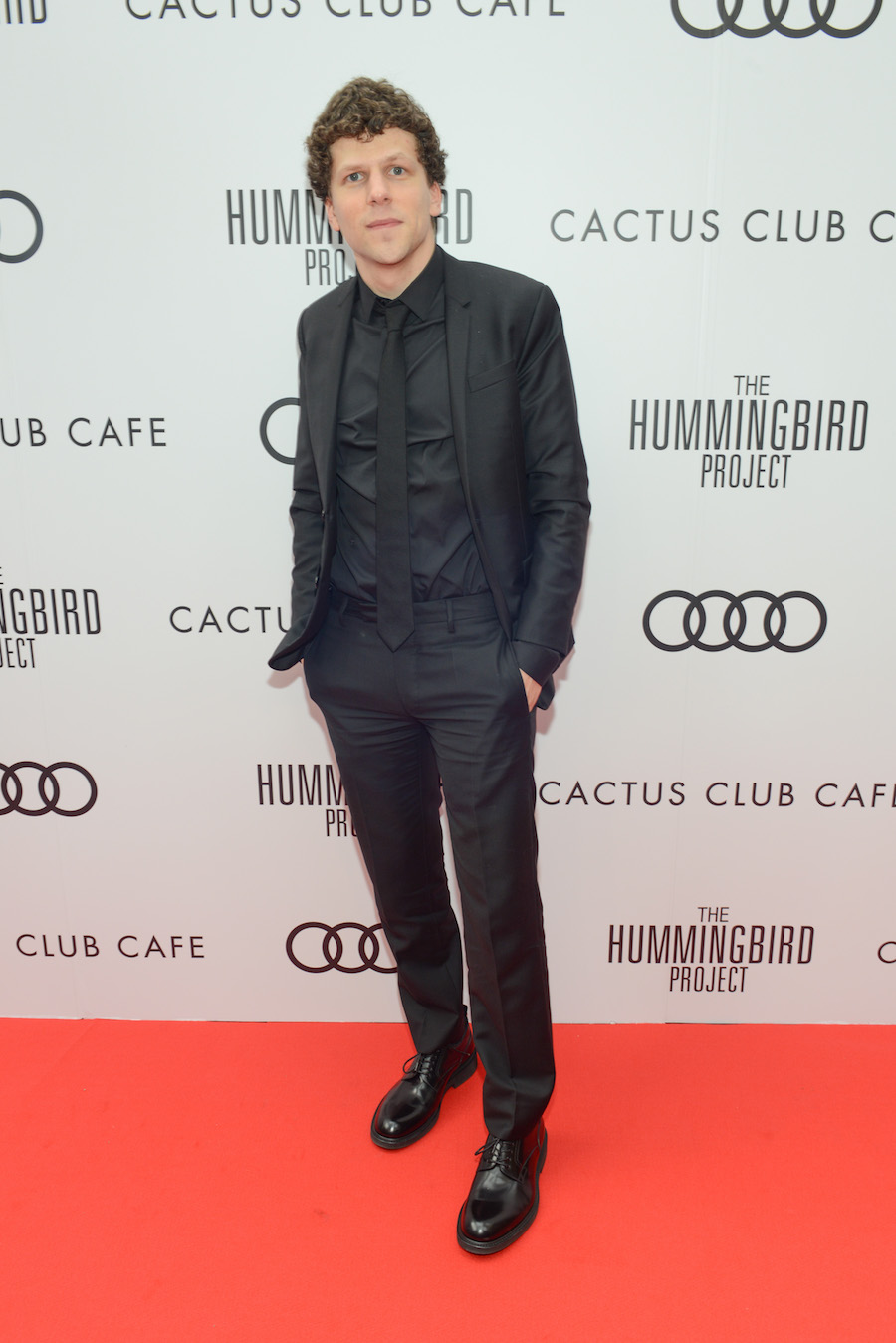 Jesse Eisenberg at 'The Hummingbird Project' premiere party hosted by Cactus Club Cafe at First Canadian Place. (Photo: George Pimentel/Getty Images for Cactus Club Cafe) | View the VIBE