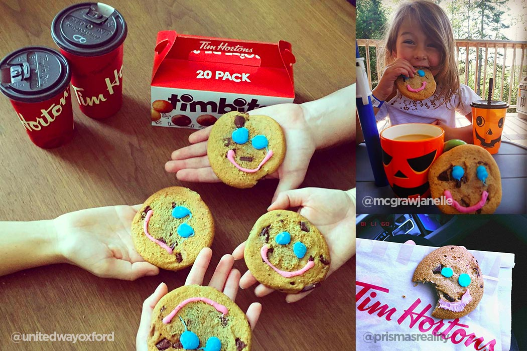 Tim Hortons Smile Cookies Toronto | View the VIBE
