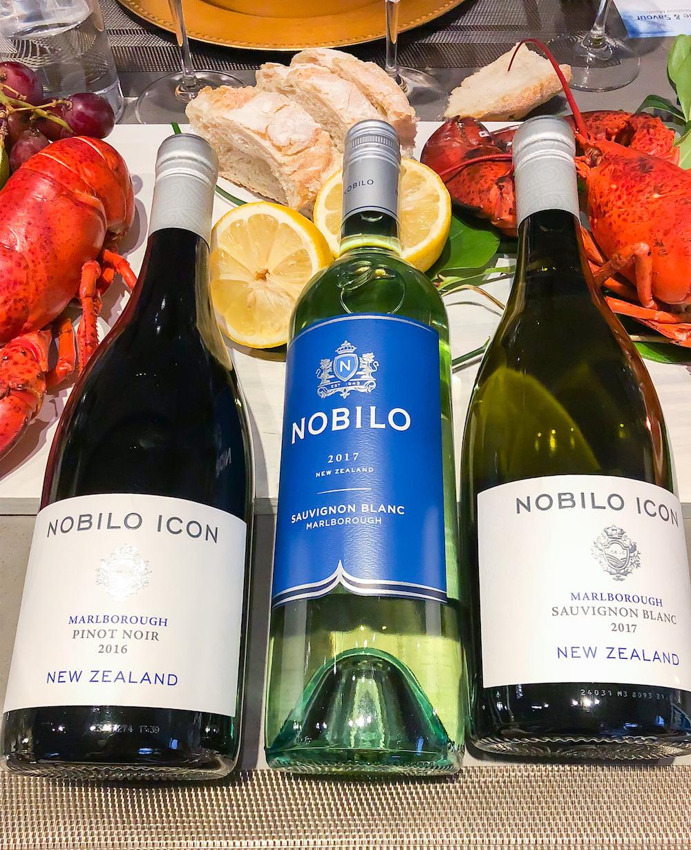Nobilo Wines at MSC Dinner | View the VIBE Toronto
