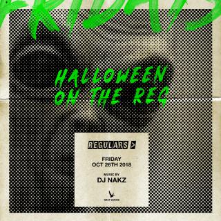 Regulars Halloween party 2018 toronto