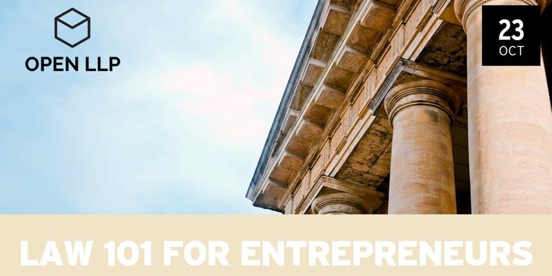 Law 101 for Entrepreneurs