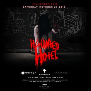 Thompson Hotel Halloween