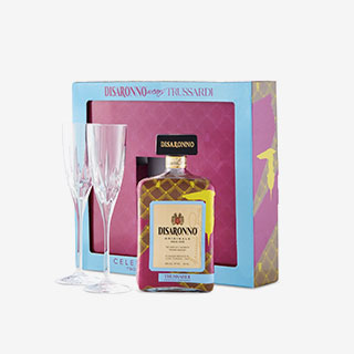 Disaronno wears Trussardi Limited-Edition Liqueur gift pack - View the VIBE