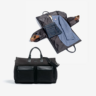 Hook + Albert Weekender Garment Bags, from $525.60 - View the VIBE
