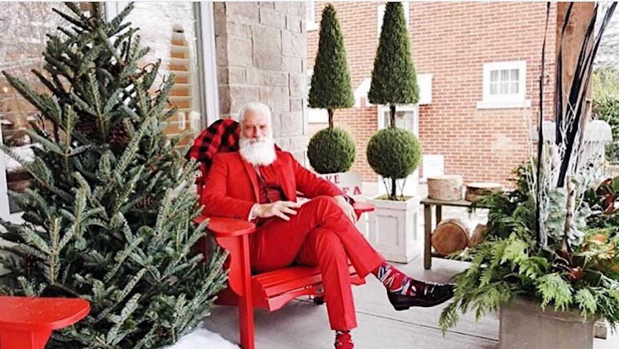 Fashion Santa - Paul Mason - View the VIBE