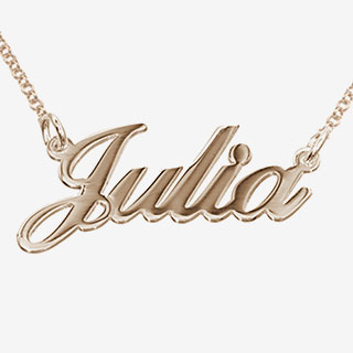 Personalized Name Necklace - View the VIBE