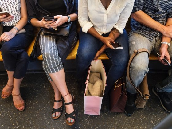 TTC Life Mr Manspread - Daily Life on View the VIBE Toronto