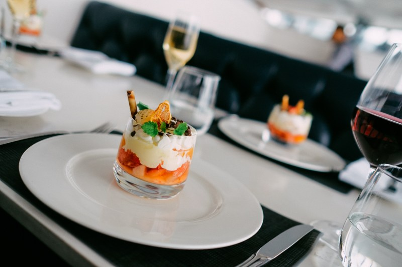 Trifle on Holiday Menu at CN Tower 360 restaurant - View the VIBE