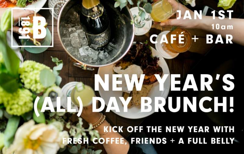 Broadview Hotel New Year's Day Brunch