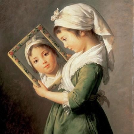 Julie Lebrun by Élisabeth Vigée Lebrun(1787)