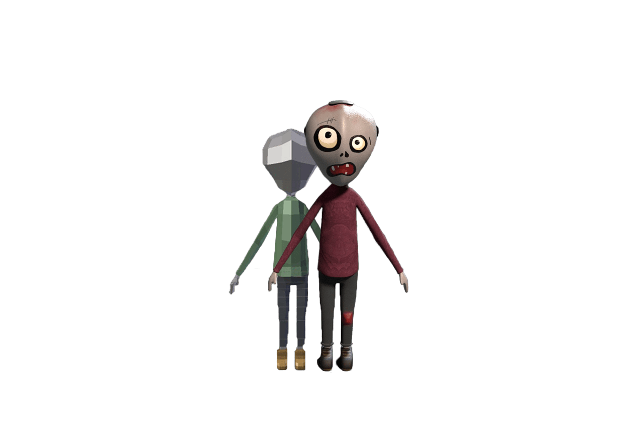 personaje proceso animacion viewy realidad virtual vr