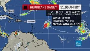 hurricane danny 8