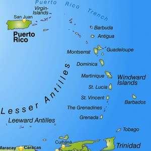 mapping carib geneticser