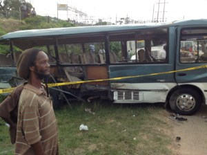 bus crash jamaica