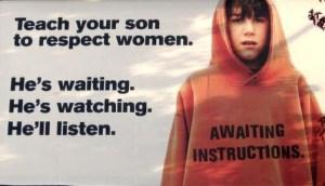 son respect mom