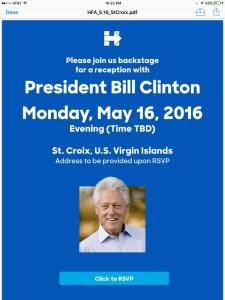 bill clinton STX