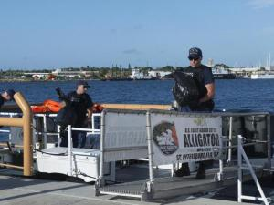 coast guard alligator