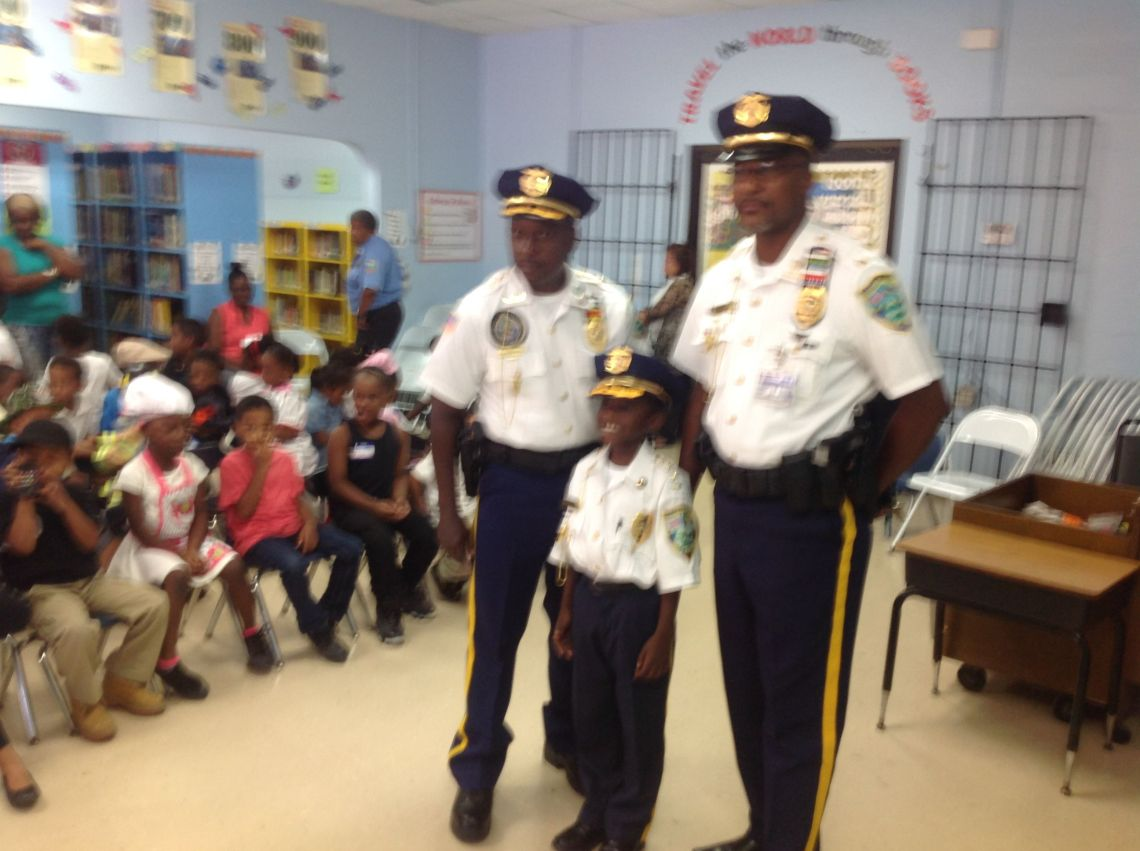 St  Croix Police Chief and VIPD Talk To Ricardo Richards Elementary