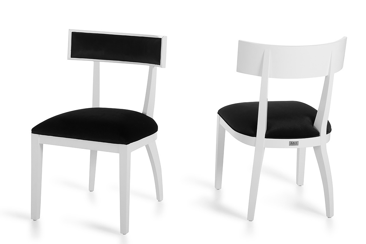 Modern White Dining Chair Alek Modern White Dining Chair Set Of 2