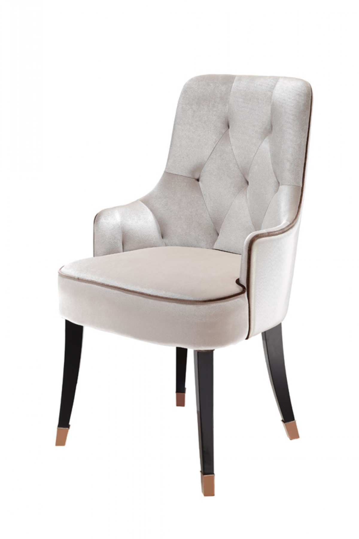 Dining Chair Fabric A Andx Larissa Modern White Fabric Dining Chair